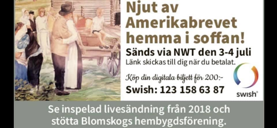 amerikabrevet annons